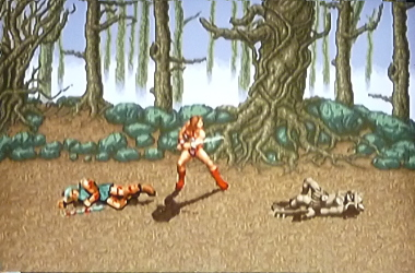 Golden axe remake artwork