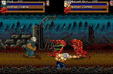Splatterhouse-1-Deception of the Mask artwork